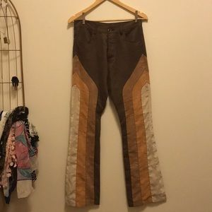 Vintage suede-like pants Super FUN!